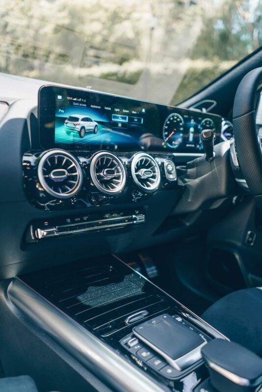 MBUX ของ Mercedes AMG GLA 35