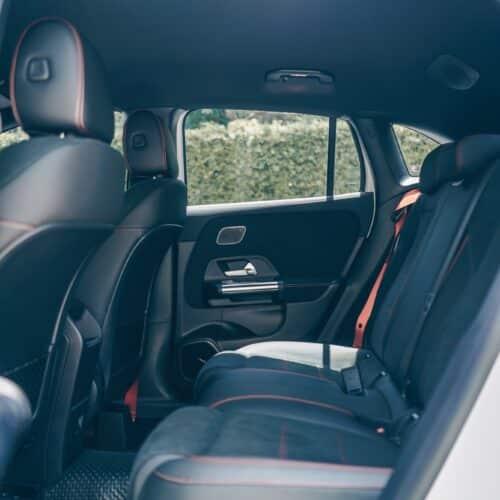 เบาะหลังของ Mercedes AMG GLA 35