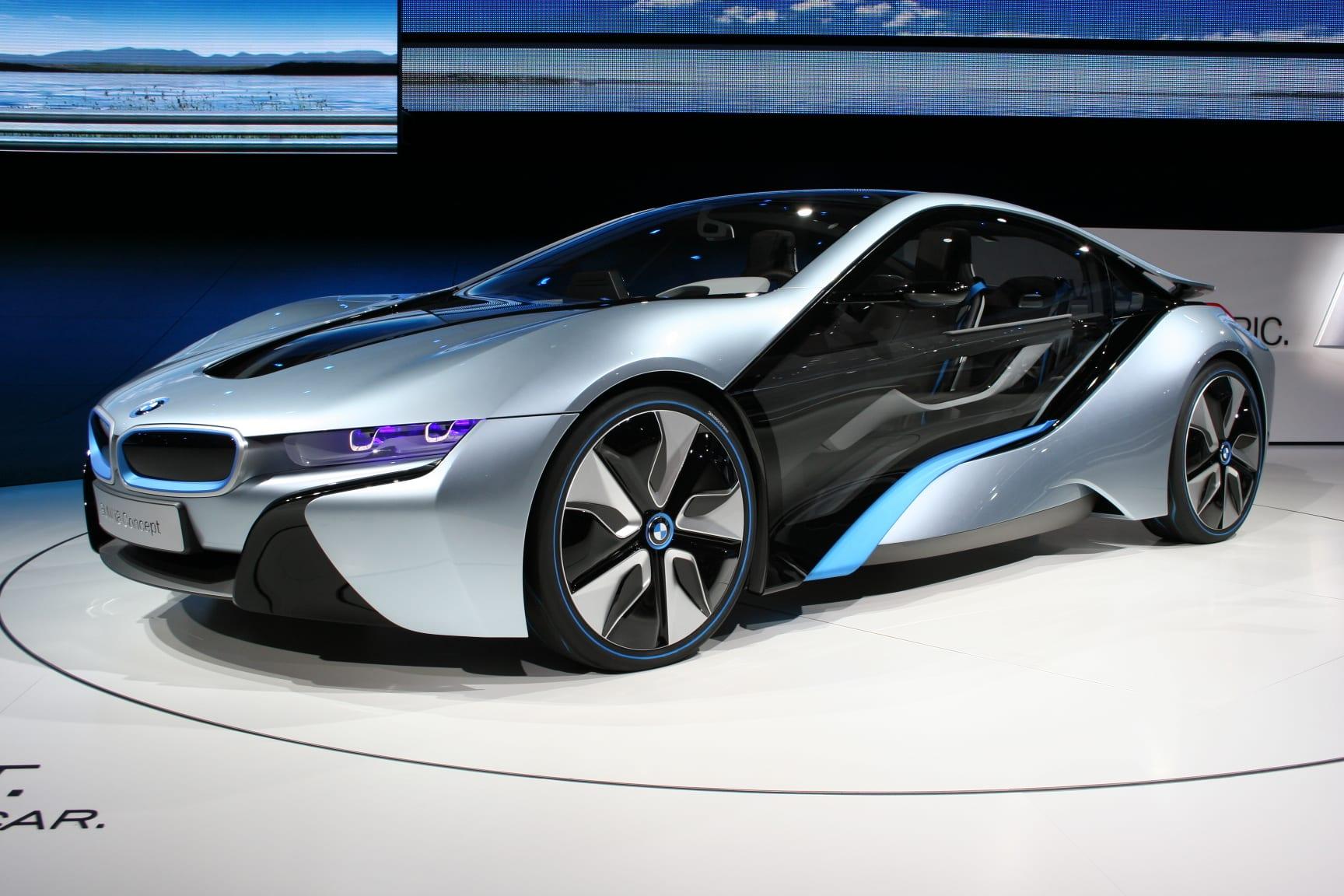 BMW i8 Concept Cars