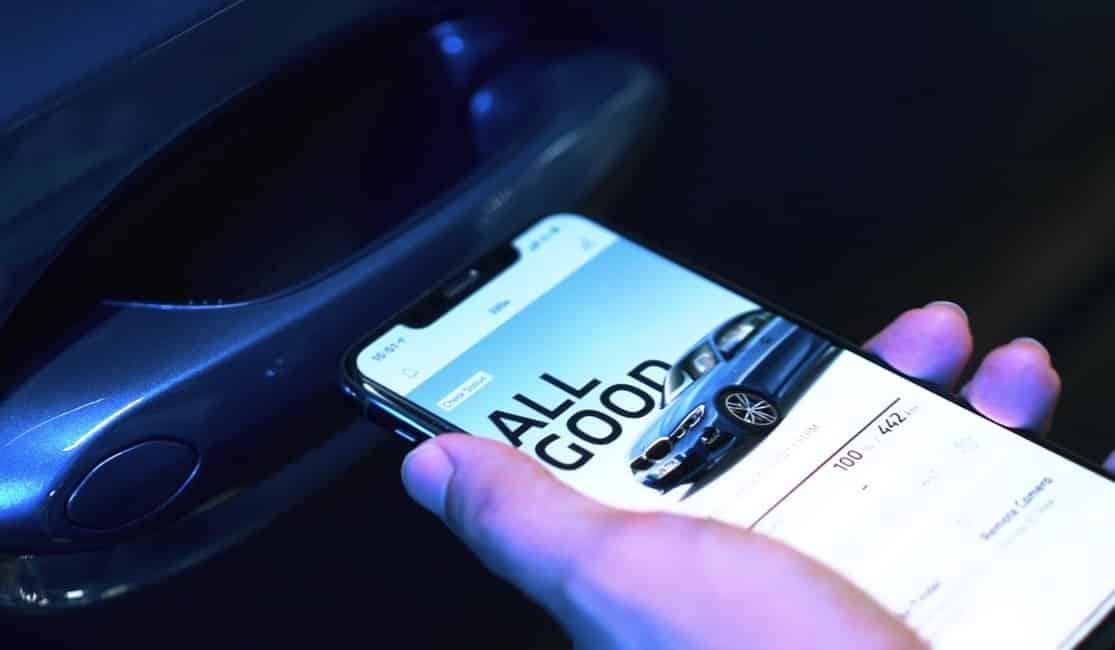 เทคโนโลยี BMW Digital Key 2