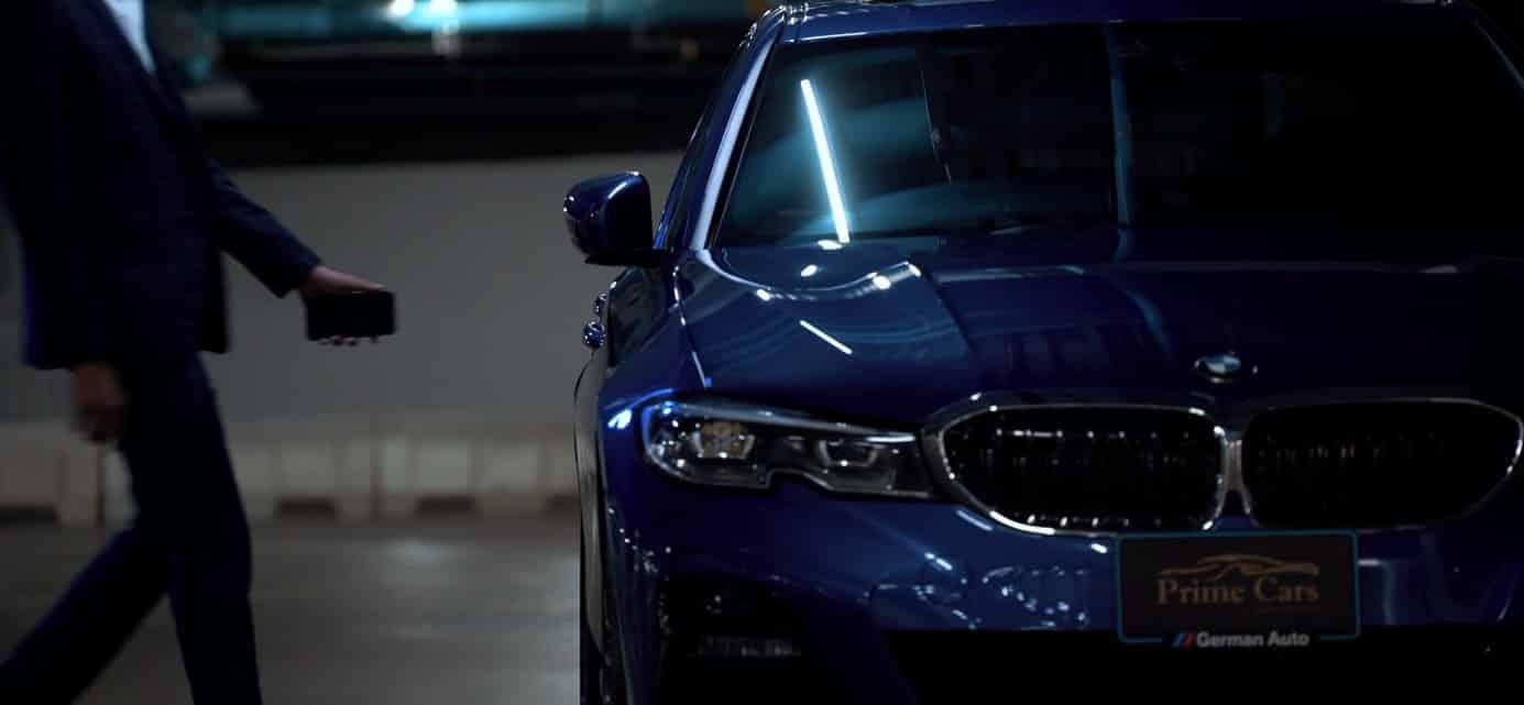 เทคโนโลยี BMW Digital Key 1