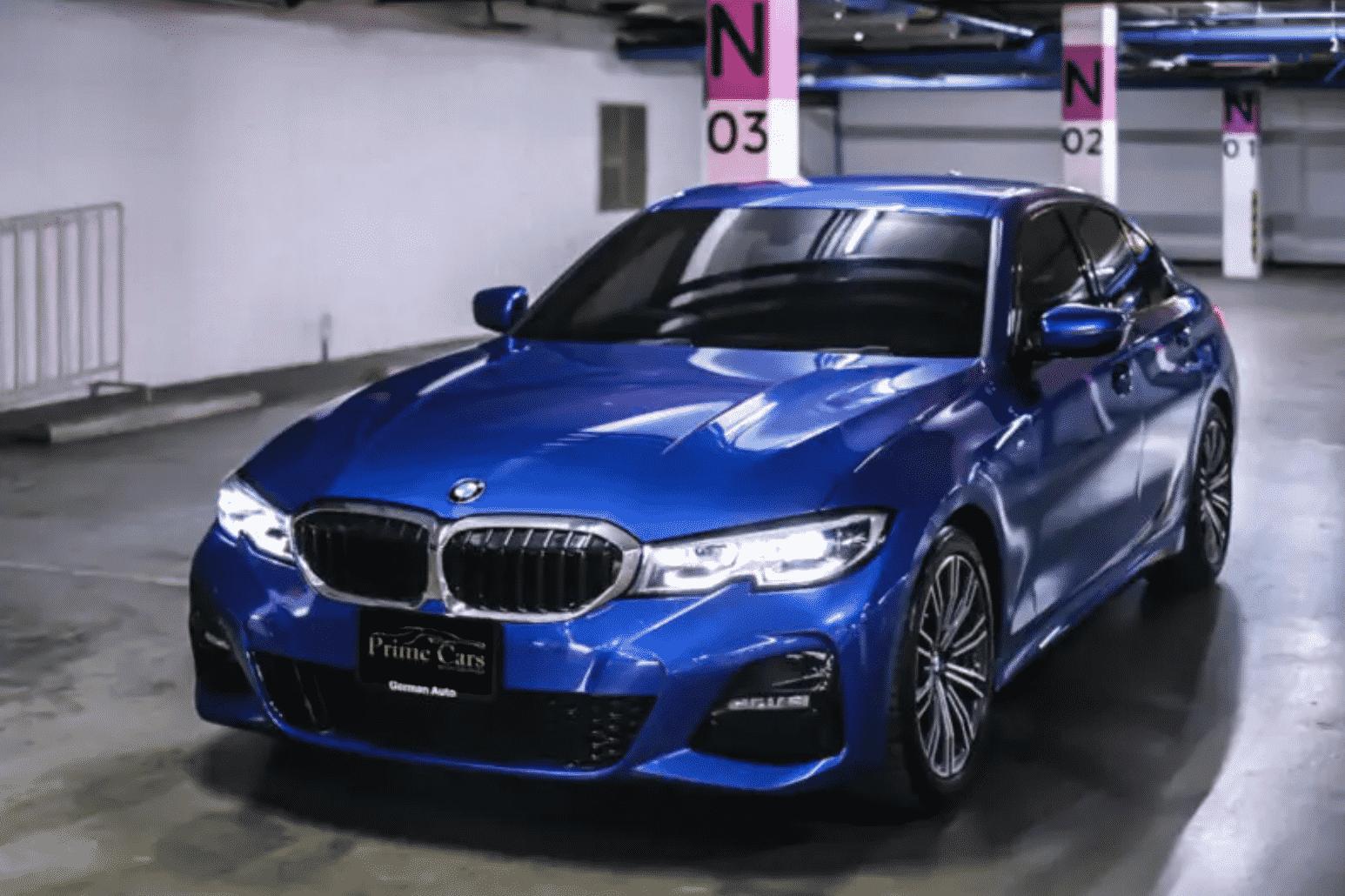 รถ BMW 3 Series 330i M Sport G20 (2019)