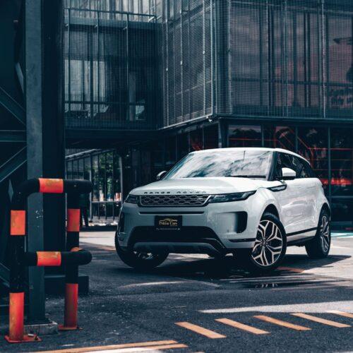 เช่ารถหรู Range Rover Evoque 2021