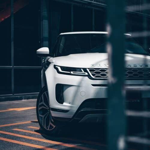 ไฟหน้า LED รุ่นใหม่ของ Range Rover Evoque