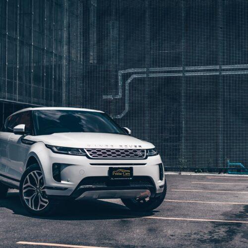ด้านหน้าของ Range Rover Evoque รุ่นใหม่ล่าสุด