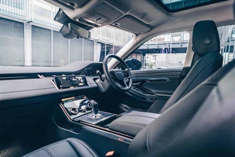 ภายใน Land Rover Range Rover Evoque 2021