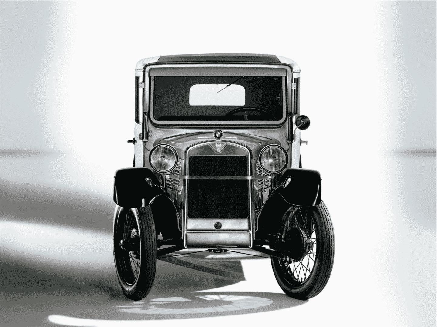 รุ่นรถแรก BMW 3/15 PS Dixi