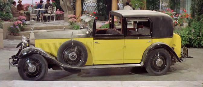 The Yellow Rolls Royce