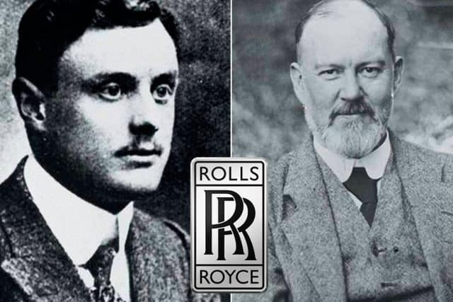 Charles Rolls and Sir Henry Royce